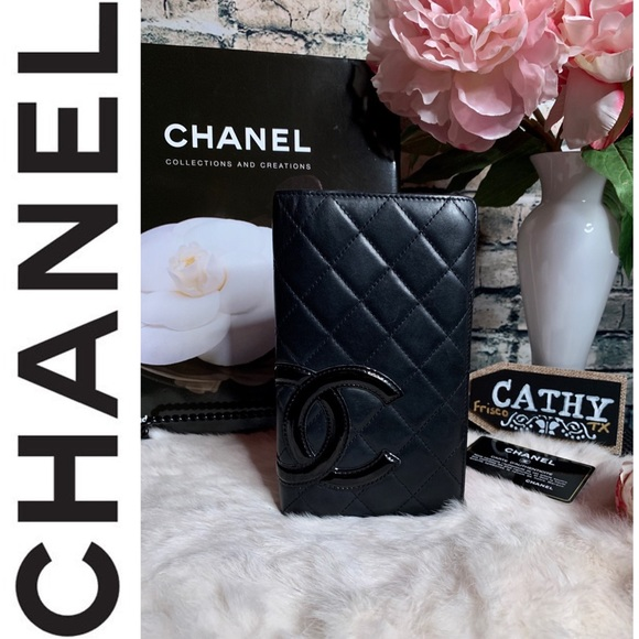 CHANEL Handbags - 𝓒𝓱𝓪𝓷𝓮𝓵 𝓒𝓪𝓶𝓫𝓸𝓷𝓛𝓸𝓷𝓰 𝓦𝓪𝓵𝓵𝓮𝓽